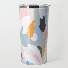 flowerbed Travel Mug