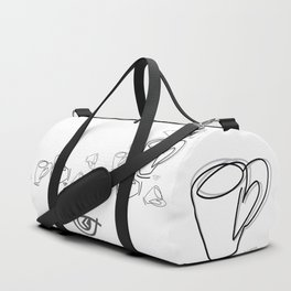 Cuppa Candor [Ivory] Duffle Bag