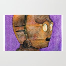 C-3PO portrait Rug