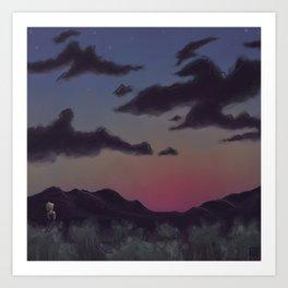 Darker Colors Art Print