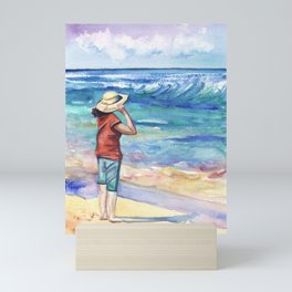 Another Nice Day at the Beach Mini Art Print