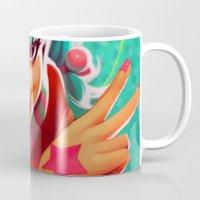 loish Mugs featuring Bubblegum by loish