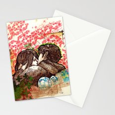 Spring that hasn't come yet Stationery Cards