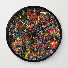 Overstocked Lake Wall Clock