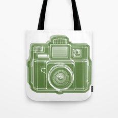 I Still Shoot Film Holga Logo - Green Tote Bag