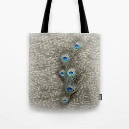 Peacock Summer Tote Bag