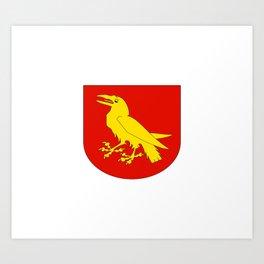 flag of Moss Art Print