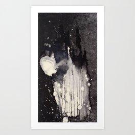"""Monotype Splash"" Art Print"