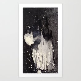"""Monotype Splash"" Art Print"