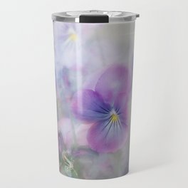 little pansies Travel Mug