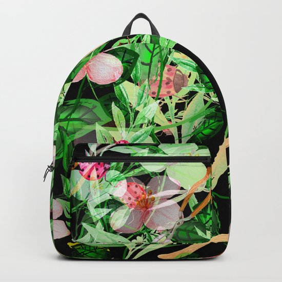 Garden Frenzy Night Backpack