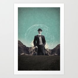 Travelling in Time Art Print