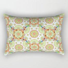 Brocade Mandala Rectangular Pillow