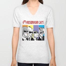 Reservoir Cats Unisex V-Neck