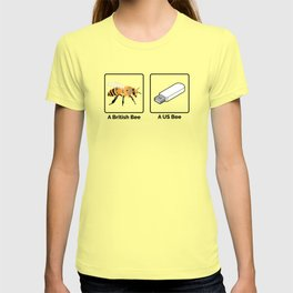 British vs US Bee T-shirt