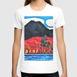 Marsden Hartley - Mt. Katahdin, Maine, Autumn #2 - Digital Remastered Edition T-shirt
