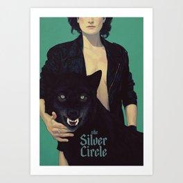 the Silver Circle Art Print