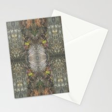 Natural Mosaic Collage 3 Stationery Cards
