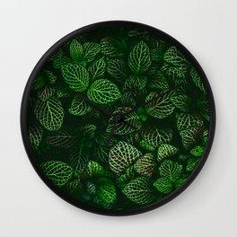 Fresh Greens (Color) Wall Clock