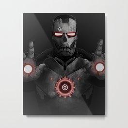 Red Iron  Metal Print