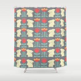 Hygge Bunnies Shower Curtain