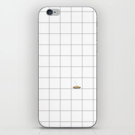 Pie Cooling on the Windowpane Pattern iPhone Skin