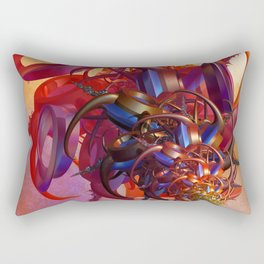 Sci-fi insect Rectangular Pillow