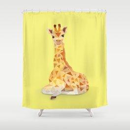 Giraffe. Shower Curtain