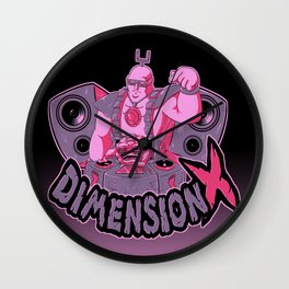 Dimension X - Teenage mutant ninja turtles  Wall Clock