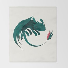 Toothless Throw Blanket