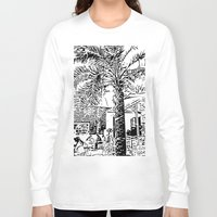 palm tree Long Sleeve T-shirts featuring Palm tree by ArteGo
