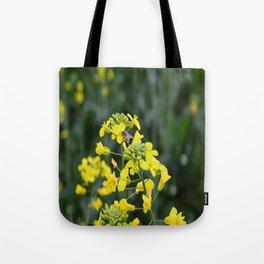 The yellow Tote Bag