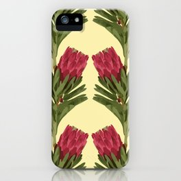 PROTEA IN FLAVESCENT iPhone Case