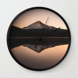 Oregon Mountain Adventure Wall Clock