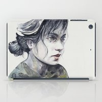 dragonfly iPad Cases featuring Dragonfly by agnes-cecile