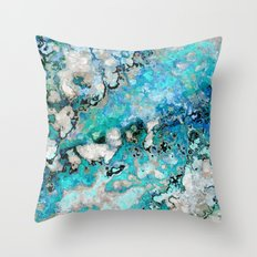 Marble Art V7 Throw Pillow