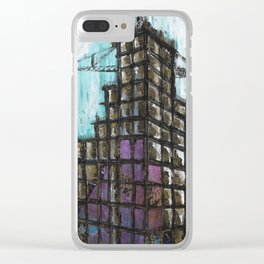 UC Building Clear iPhone Case