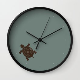 Lo Shu Turtle Wall Clock