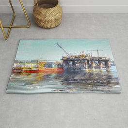 Rig And Works  Rug