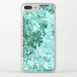 Shining Sea 2 Clear iPhone Case