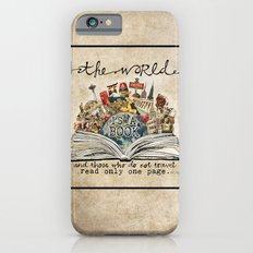 The World Is A Book iPhone 6s Slim Case