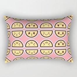 Kawaii Lemons Rectangular Pillow