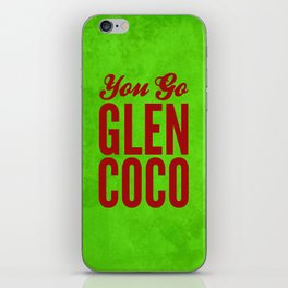 Glen Coco Xmas iPhone Skin