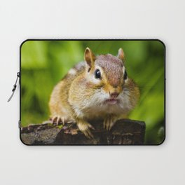 Caught With His Mouth Full Laptop Sleeve