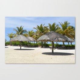 Postcard Paradise  Canvas Print