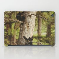 climbing iPad Cases featuring Climbing Cubs by Kevin Russ