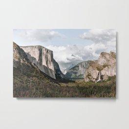 Mountain Design 2 Metal Print