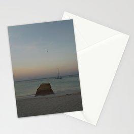 Morning at Palm Beach, Aruba - II Stationery Cards
