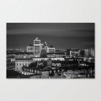 dublin Canvas Prints featuring Dublin by Maciej Pietuszynski