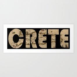 Crete 1670 Art Print